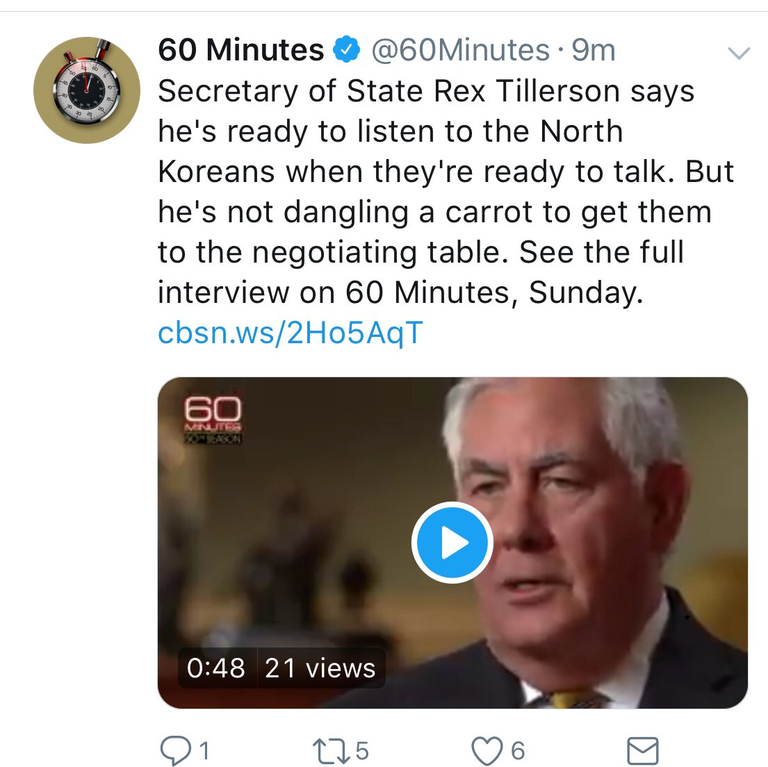 The ONLY thing I see dangling here is Tillerson's beautiful neck, which would look pretty appetizing to me on ANY table.