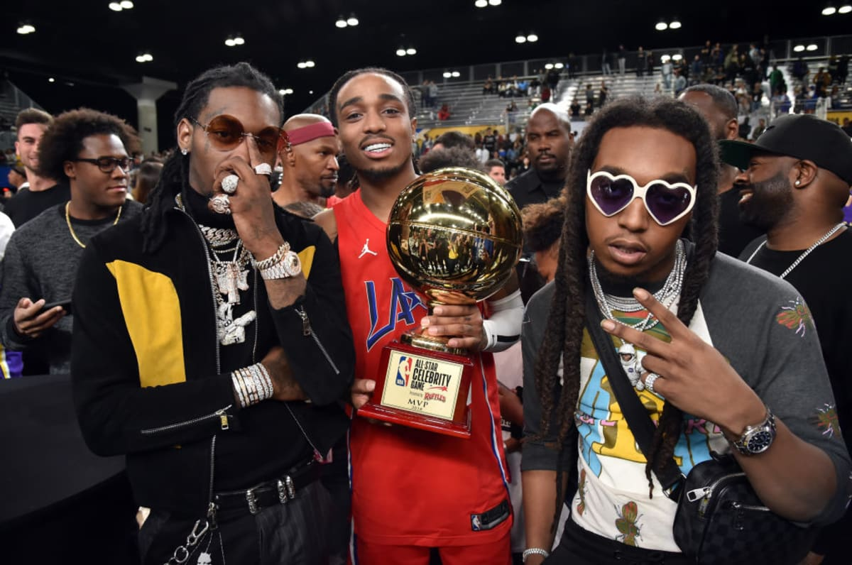 1dcbf0896ecb Migos  Quavo takes MVP in the 2018 NBA All-Star Celebrity Game.  https   t.co Ylg8d1iNTC