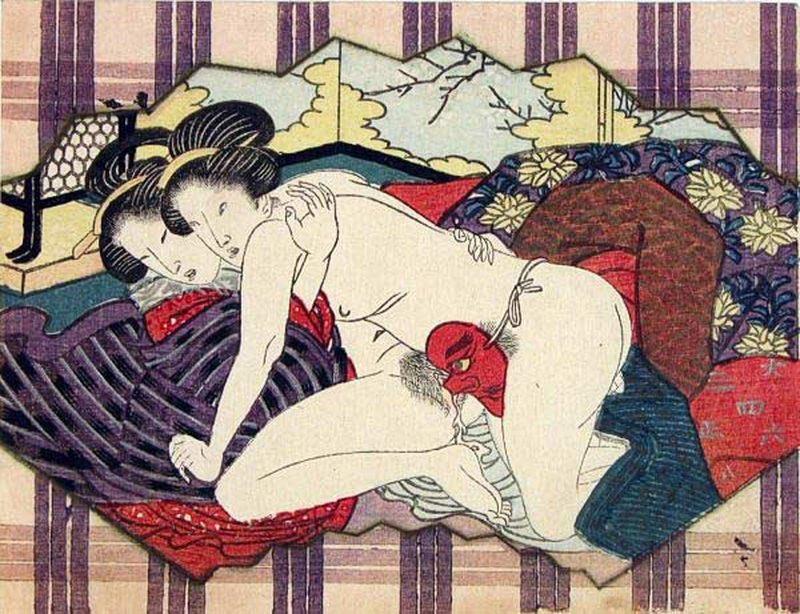 японсий секс по любви
