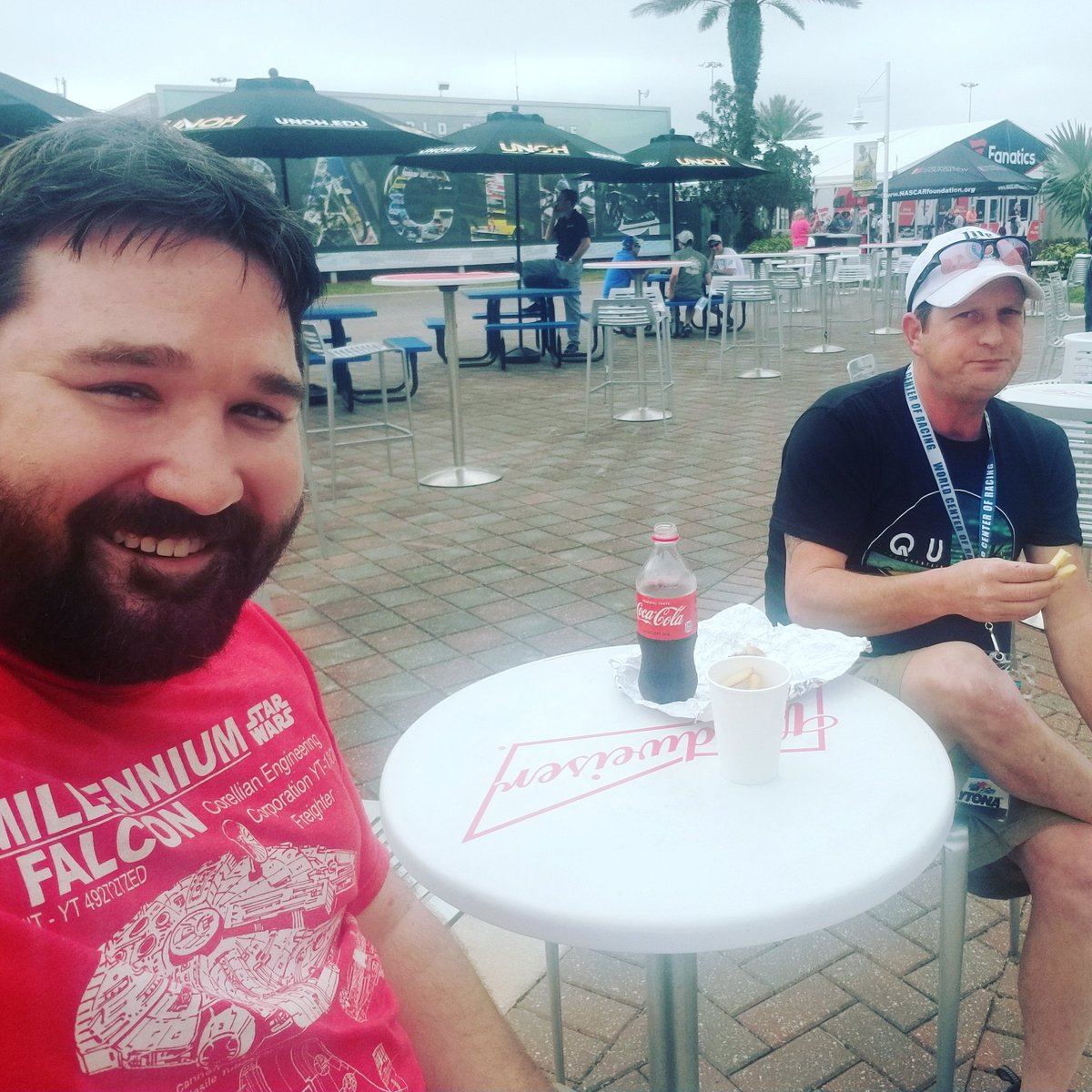 With Jeff at the #PowerSharesQQQ300 http...