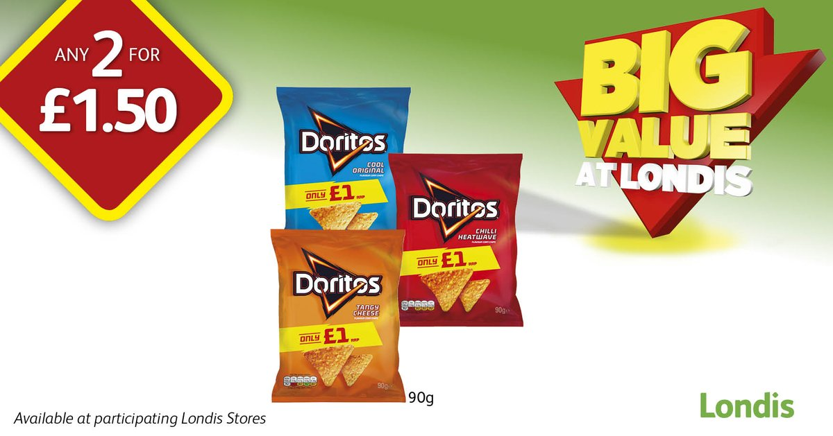 Staying in IN tonight?   Pop down to @myLondis for @DoritosUK & @CocaCola_GB sharing packs   #Sorted👌