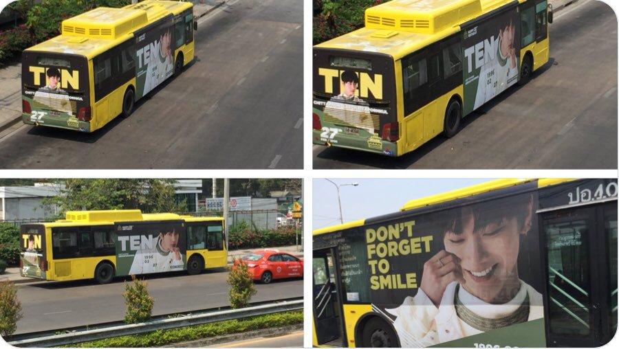 #รถเมล์น้องเตนล์ ที่คนอื่นถ่ายได้ VS ที่...
