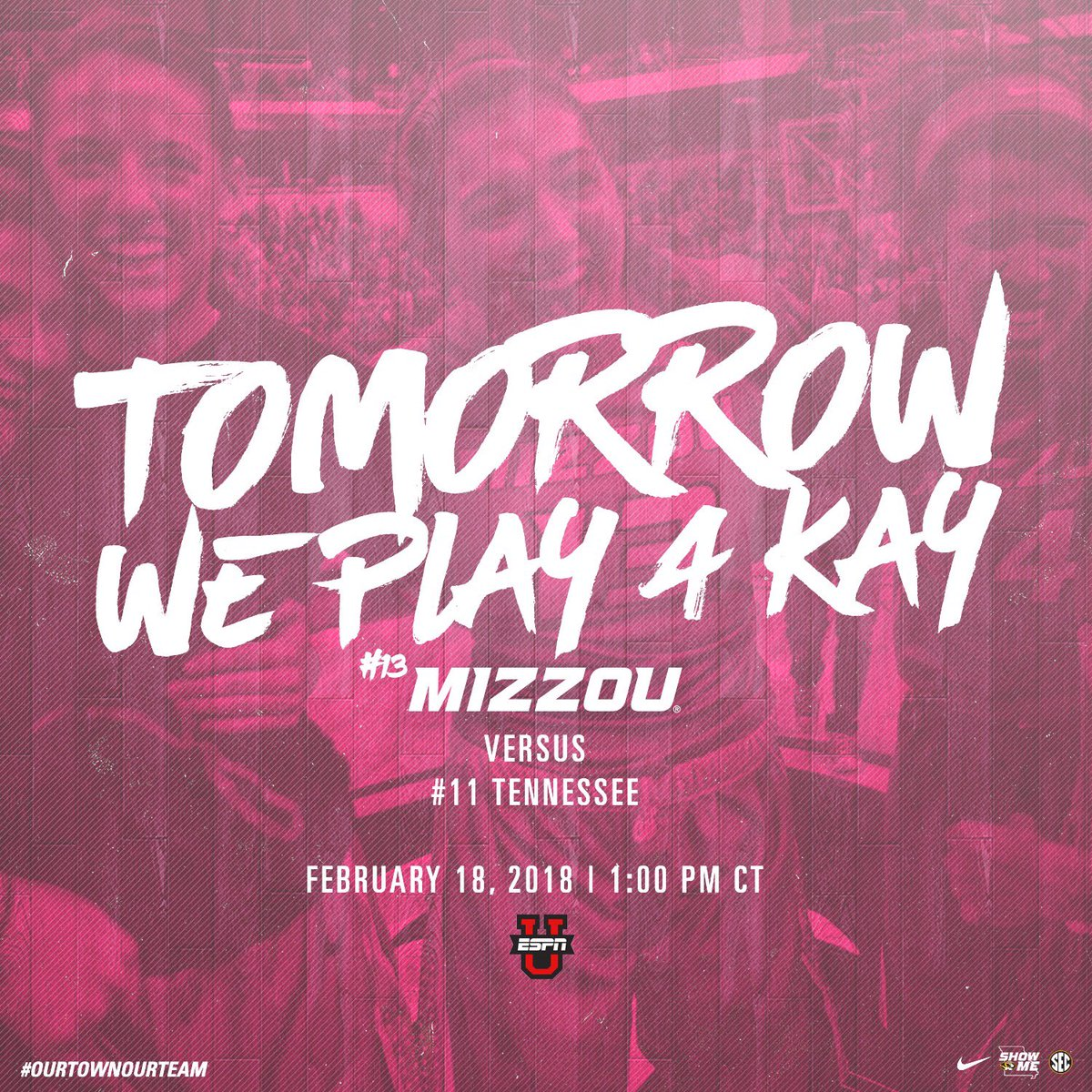Mizzou athletics mizzouathletics twitter our game tomorrow vs 11 tennessee we hope you know how much we appreciate this community and our fanbase lets make mizzou arena electric and break publicscrutiny Choice Image