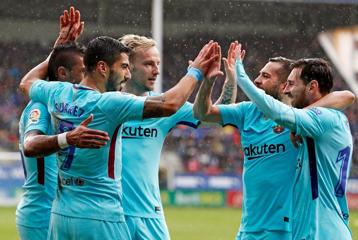 ➕3️⃣👌 Desde ya, a pensar en el importante partido del martes 💪⚽️ ➕3️⃣👌 From now, focused on the important match of Tuesday #ForçaBarça 🔵🔴