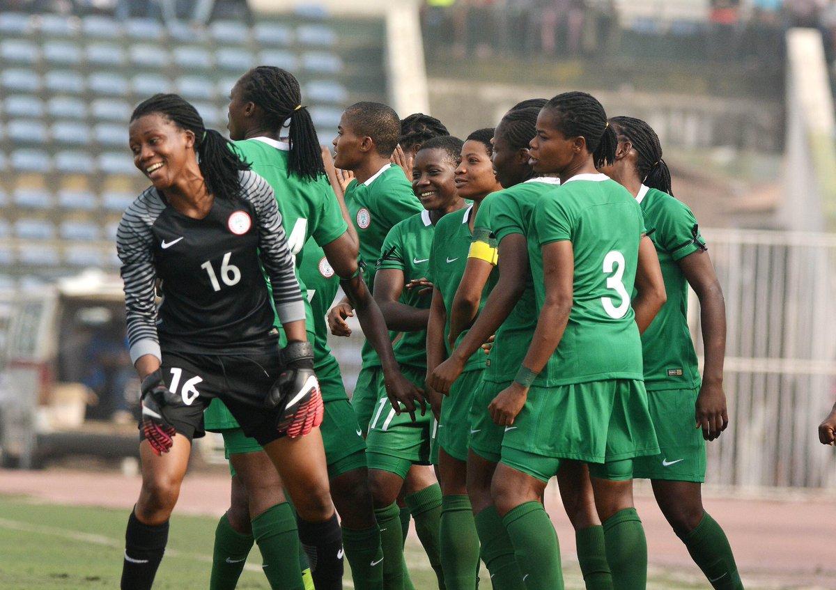Congratulations ladies! Excellent team performance tonight.  Nigeria  3 - Senegal  0  Goals By #RasheedatAjibade  #NGASEN #WAFUWomensCup #SuperfalconsofNigeri #SFFP #Superfalconsfanpage<br>http://pic.twitter.com/FkOsjLv1iY