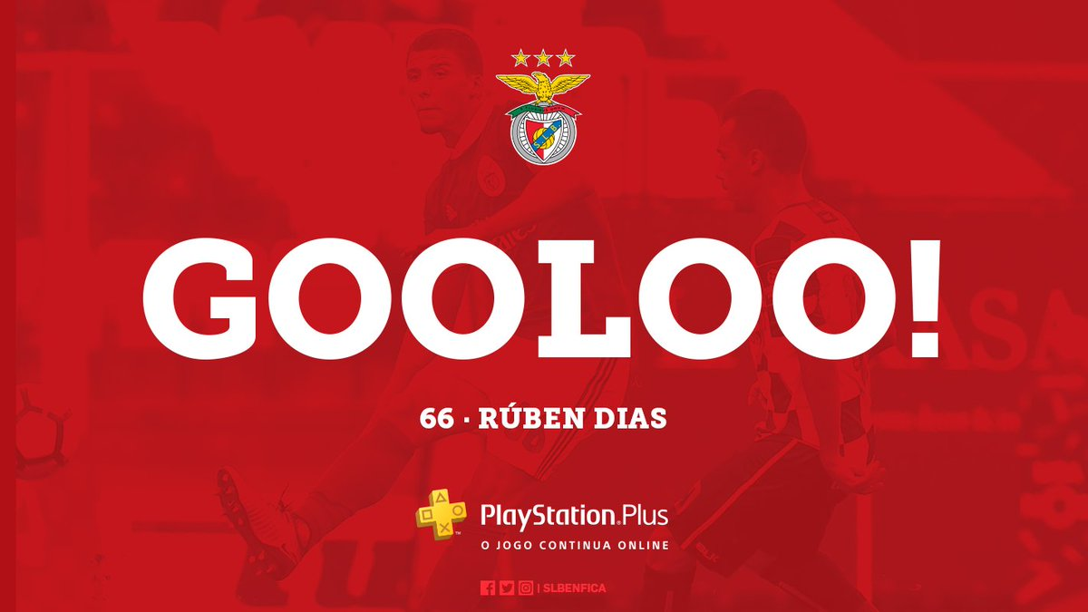 #SLBBFC | 1-0 | ⚽ 18' GOOOOOLOOOOOO! RÚBEN DIAS! Revê no nosso Game Hub ➡ https://t.co/PpOnJLgMgG #PSPlus
