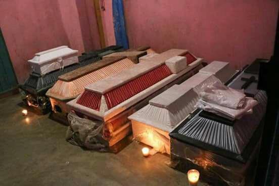 Así los funerales de quienes murieron an...