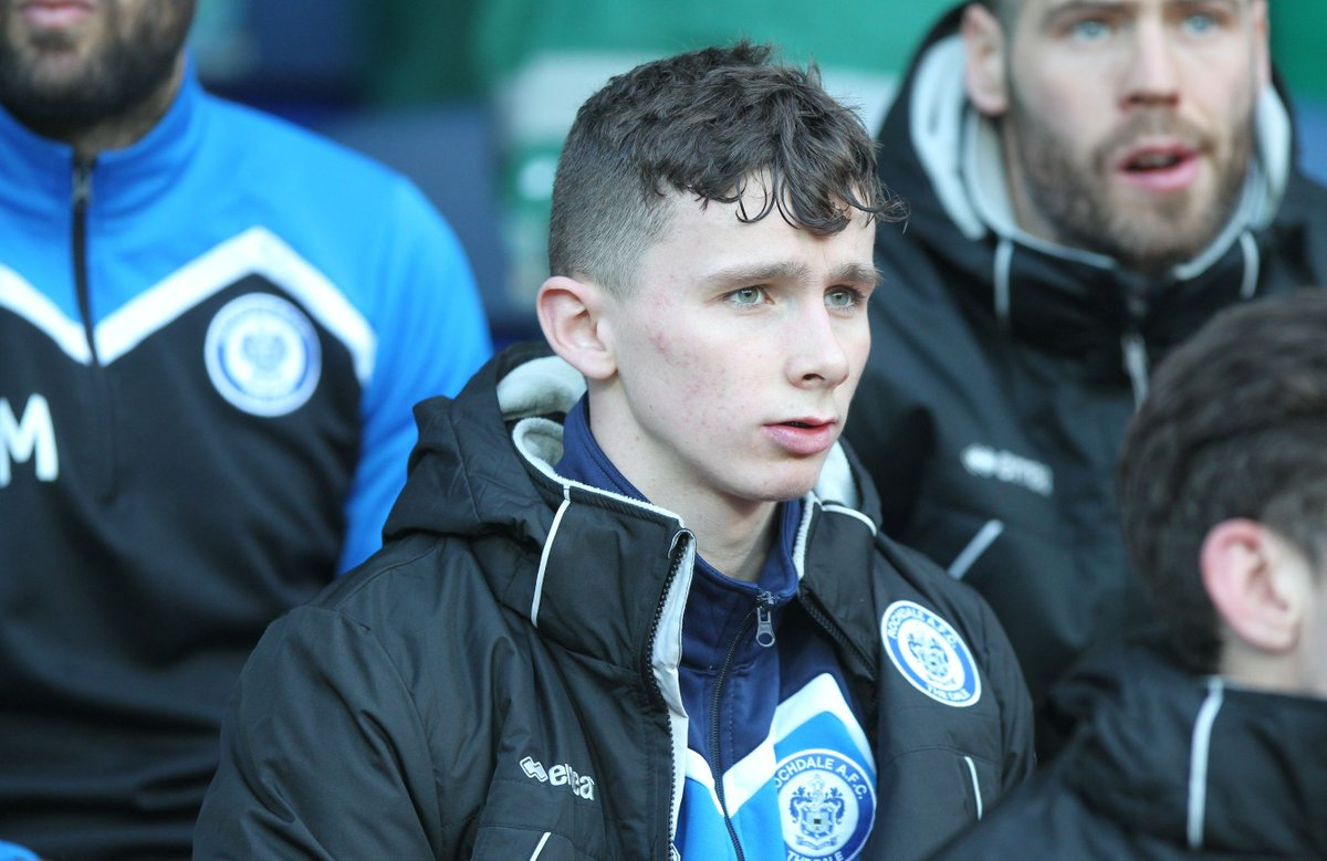 Sunday: play in the #FACup   Monday: go back to school.  That's what's on the agenda for Rochdale's Daniel Adshead!  Read👉https://t.co/IZ9f4zdQKu  #bbcfacup