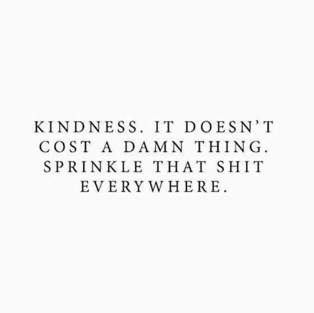 It's #RandomActsofKindnessDay! While stopped at a red light on #ValentinesDay I saw a young woman park her car, pull out 2 dozen 🌹's & start giving them out to strangers on the street. How cool is that?! What can we do to put a smile on someone's face today? ✨