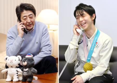 首相が羽生選手に電話  https://t.co/cNO2sTuUaX