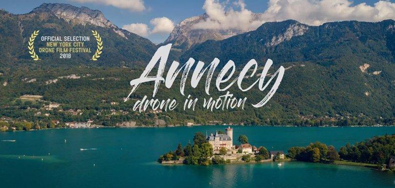 Réalisé avec un drone, ce film est un des plus beaux hommages à la ville d'Annecy -  https://t.co/s6SHJSCMXF