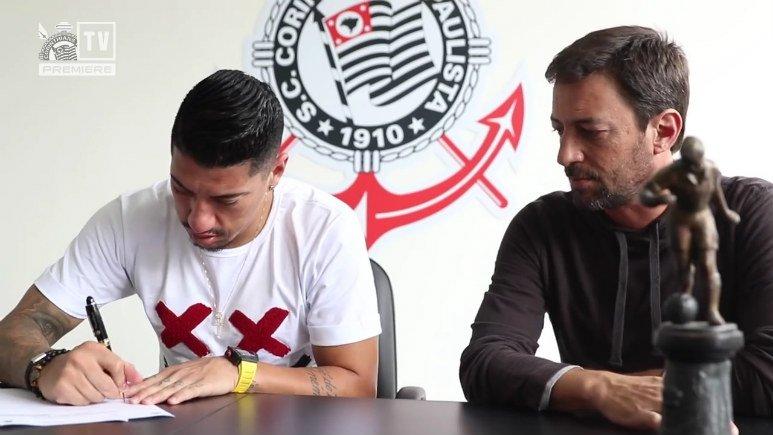 Ralf assina com o Corinthians e manda recado para a torcida; assista https://t.co/OHZFxOPUjR