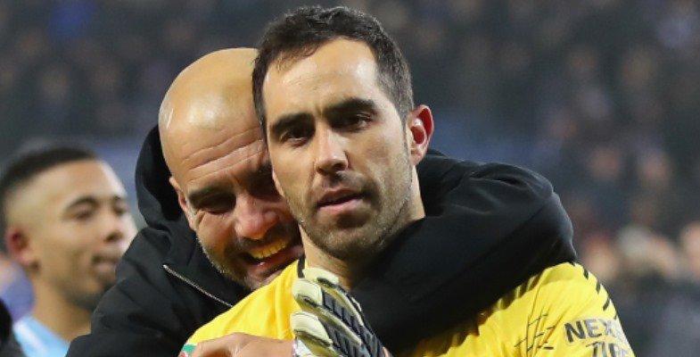 Josep Guardiola elogió a @C1audioBravo:...