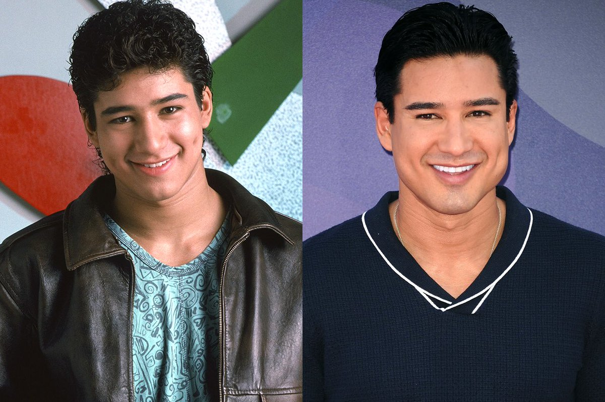 Mario Lopez has got to be bathing in the...
