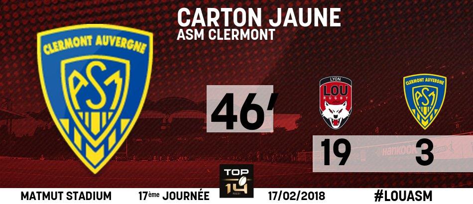 46' : 19 - 3  | #TEAMLOU #TOP14  | C'est...