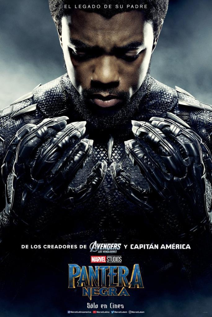 Por siempre Wakanda. #PanteraNegra de Ma...