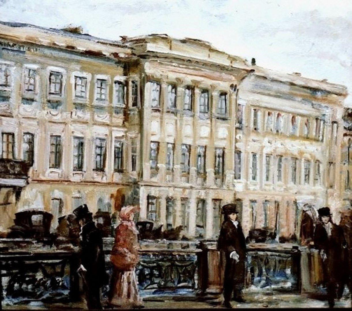 всем петербург пушкина картинки существует