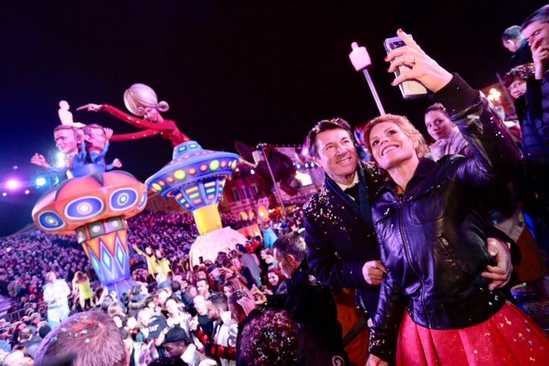 Bravo et merci aux carnavaliers qui réalisent chaque année un travail formidable et des chars toujours plus majestueux ! #ILoveNice