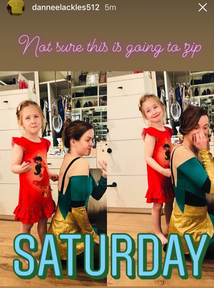 JJ And @DanneelHarris dressing up for belated #FatTuesday #MardiGras2018   Via Danneels IG stories and posts .<br>http://pic.twitter.com/SQnkF4VR32