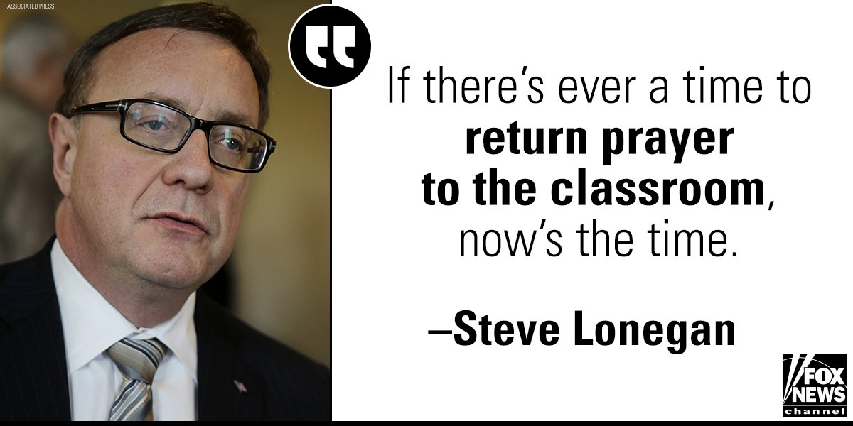 NJ GOP Candidate Steve @Lonegan: FL Shooting Should Bring Call to 'Return Prayer to the Classroom' https://t.co/XjsbxD1vEQ