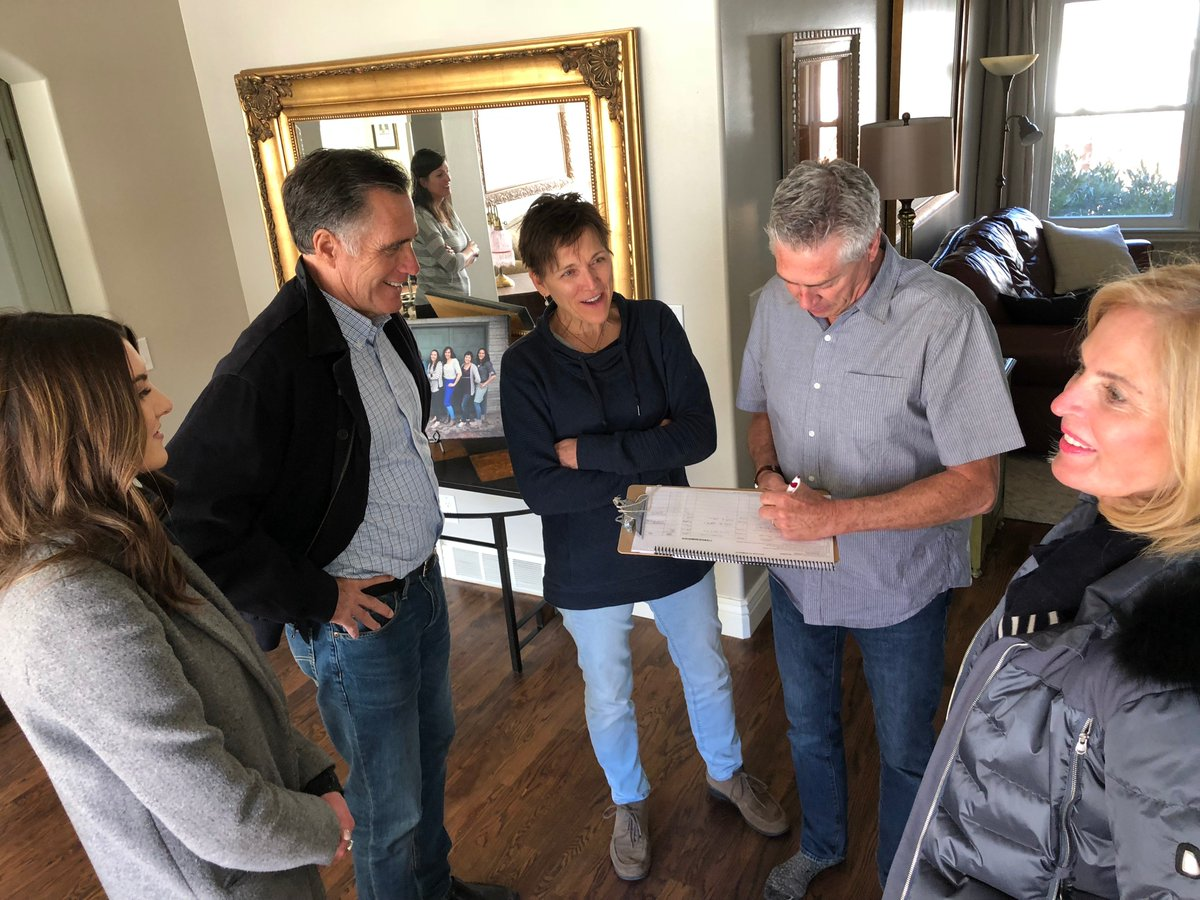 Out knocking doors this morning I met Paul and Orva Johnson—was thrilled to earn their support!