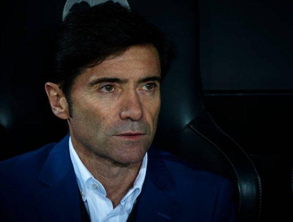 🔴🎙️Marcelino, entrenador del Valencia: Es difícil para mí verlo. Creo que el árbitro anuló el gol en el primer salto. Eso invalida la segunda acción.