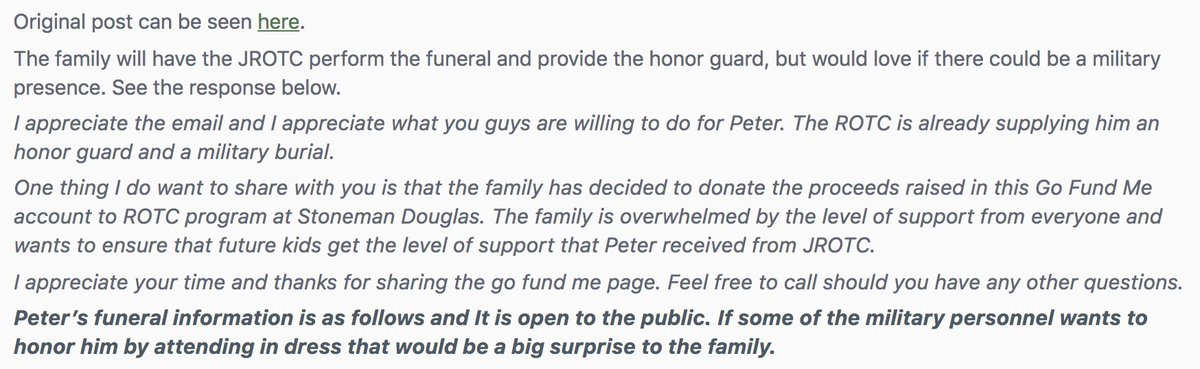 JROTC freshman Peter Wang may not have actually served in the U.S. armed forces, but that's not stopping the members of r/military from arranging a uniformed presence at his funeral https://t.co/vtEaGuool4