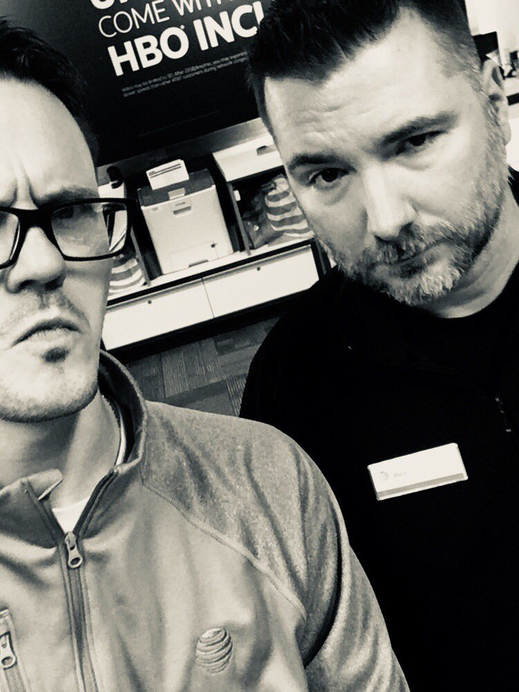 Game faces @A_Town817 Ben with a DTV NOW! #championsleague #dawgpound @DaleB1