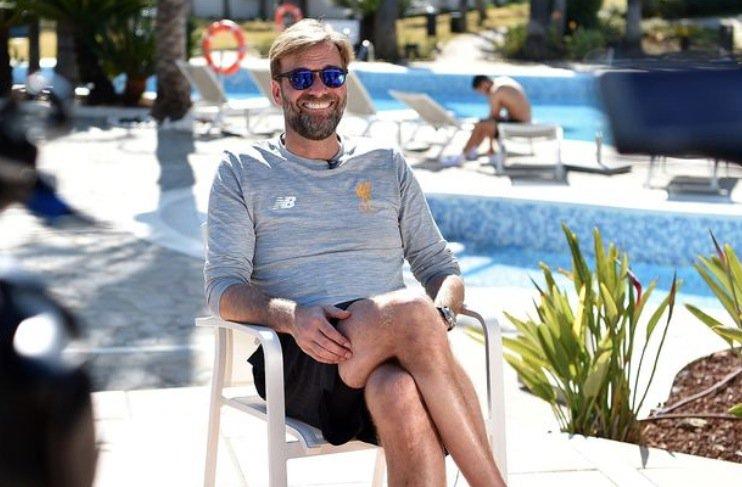 Having fun in the sun, Jurgen? ☀️😎  All...