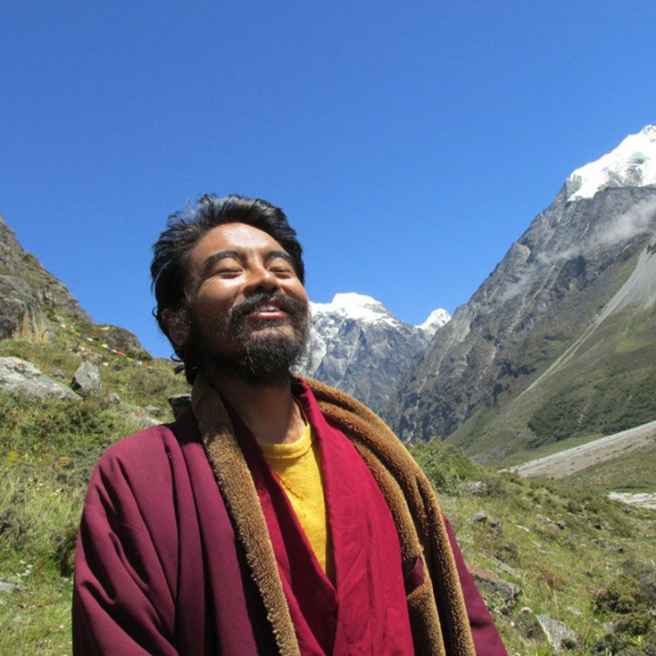 How Mingyur Rinpoche learned to rejoice...