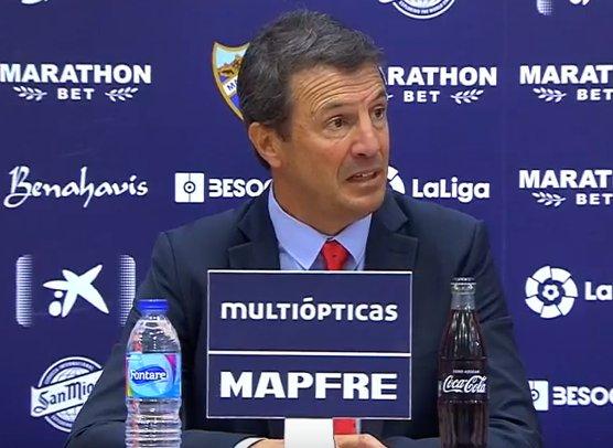 🔴🎙️José González, técnico del Málaga: Es una de mis derrotas más duras porque siento que he ganado al Valencia hoy.