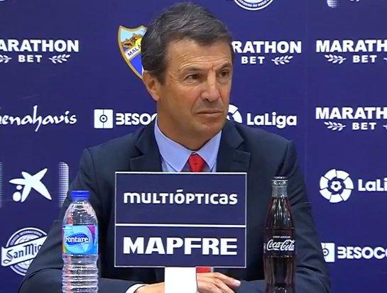 🔴🎙️José González, técnico del Málaga: Me fijé en el asistente y él no levantó el banderín. Ver algo que no ha ocurrido es imposible. Por eso, duele más.