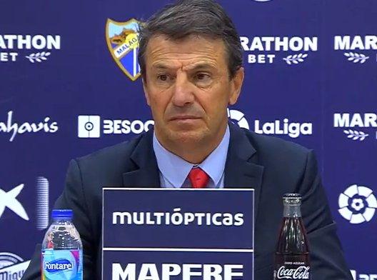 🔴🎙️José González, técnico del Málaga: Me callé el fuera de juego de Calleri, me callé los fuera de juego de Eibar y hoy me vuelvo a callar, pero íbamos ganando 2-0.