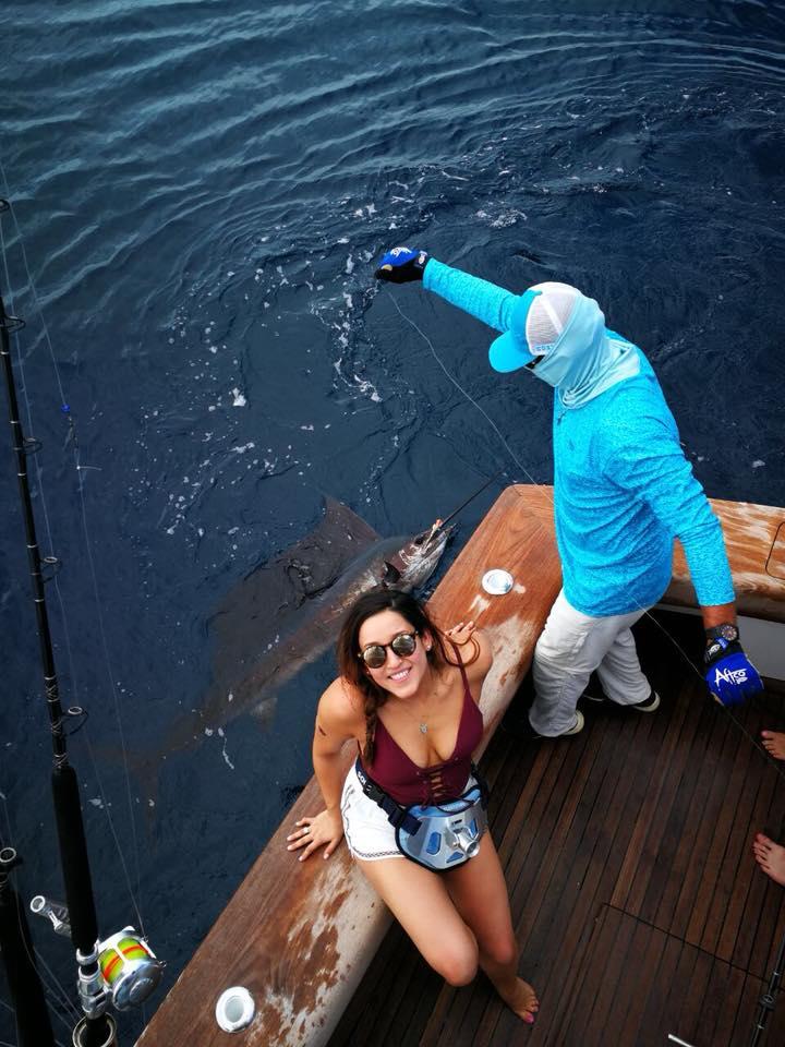 Los Suenos, CR - Open Fly went 9-10 on Sailfish.