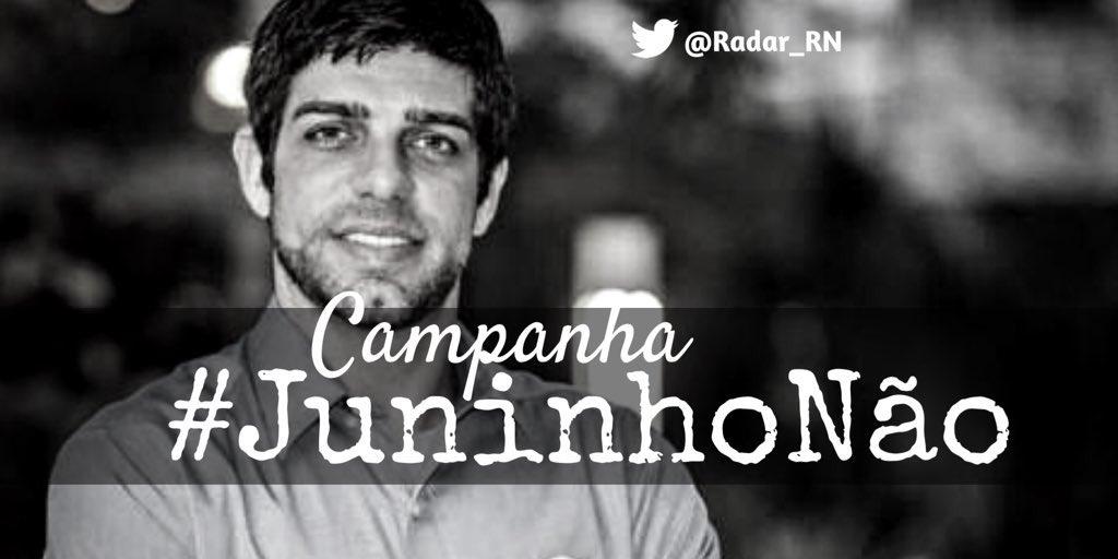 Vamos colocar a tag #JuninhoNão @RedeGlo...