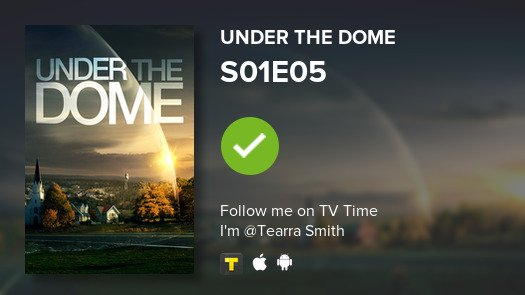 I've just watched episode S01E05 of Unde...