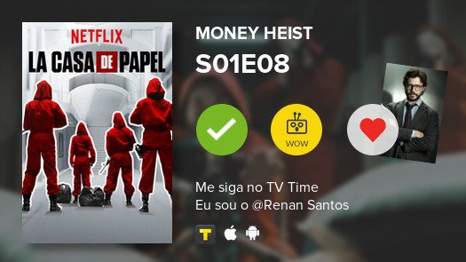 I've just watched episode S01E08 of Mone...