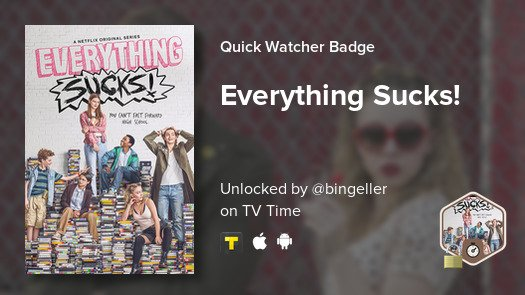 I just unlocked a new badge! #tvtime htt...