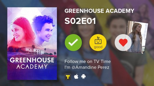 I've just watched episode S02E01 of Gree...