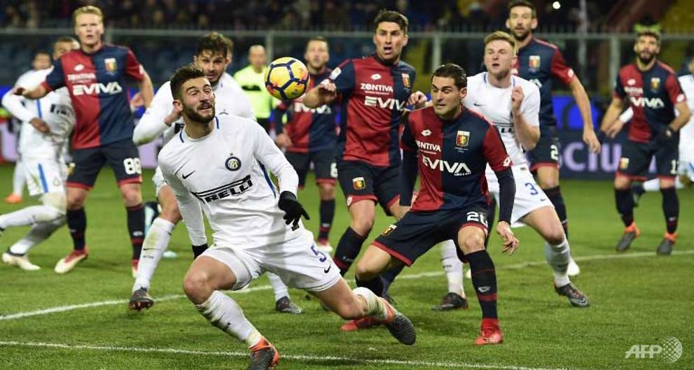 Football: AS Roma go third as Inter Mila...