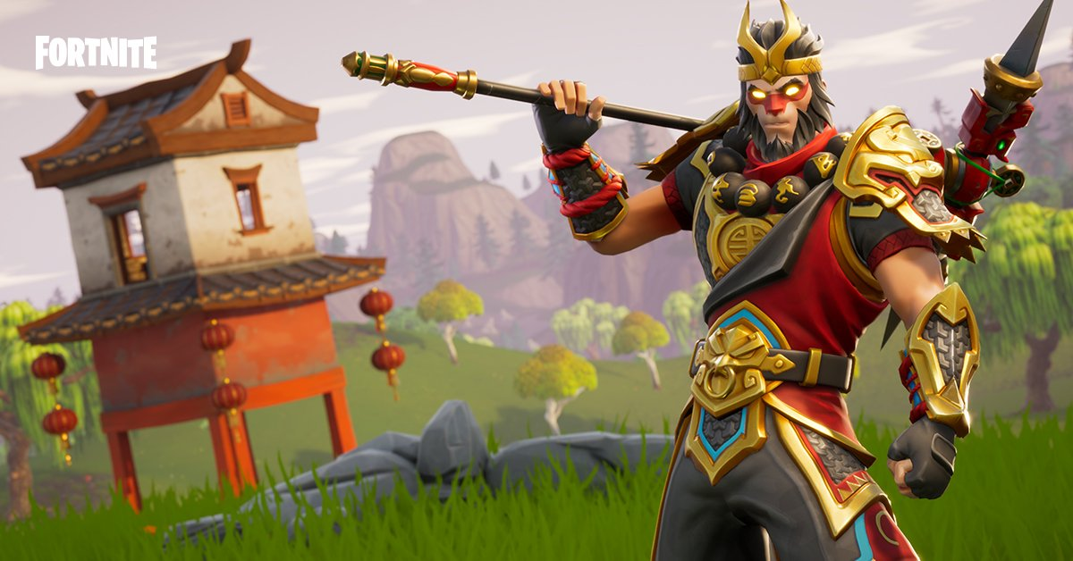 Fortnite On Twitter Ascend To Victory Royale Ty As The Monkey King The New Wukong Outfit Is Available In The Item Shop Today