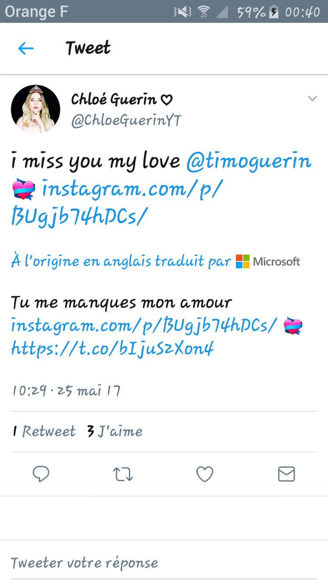 Timothée Guerin On Twitter I Miss You Too