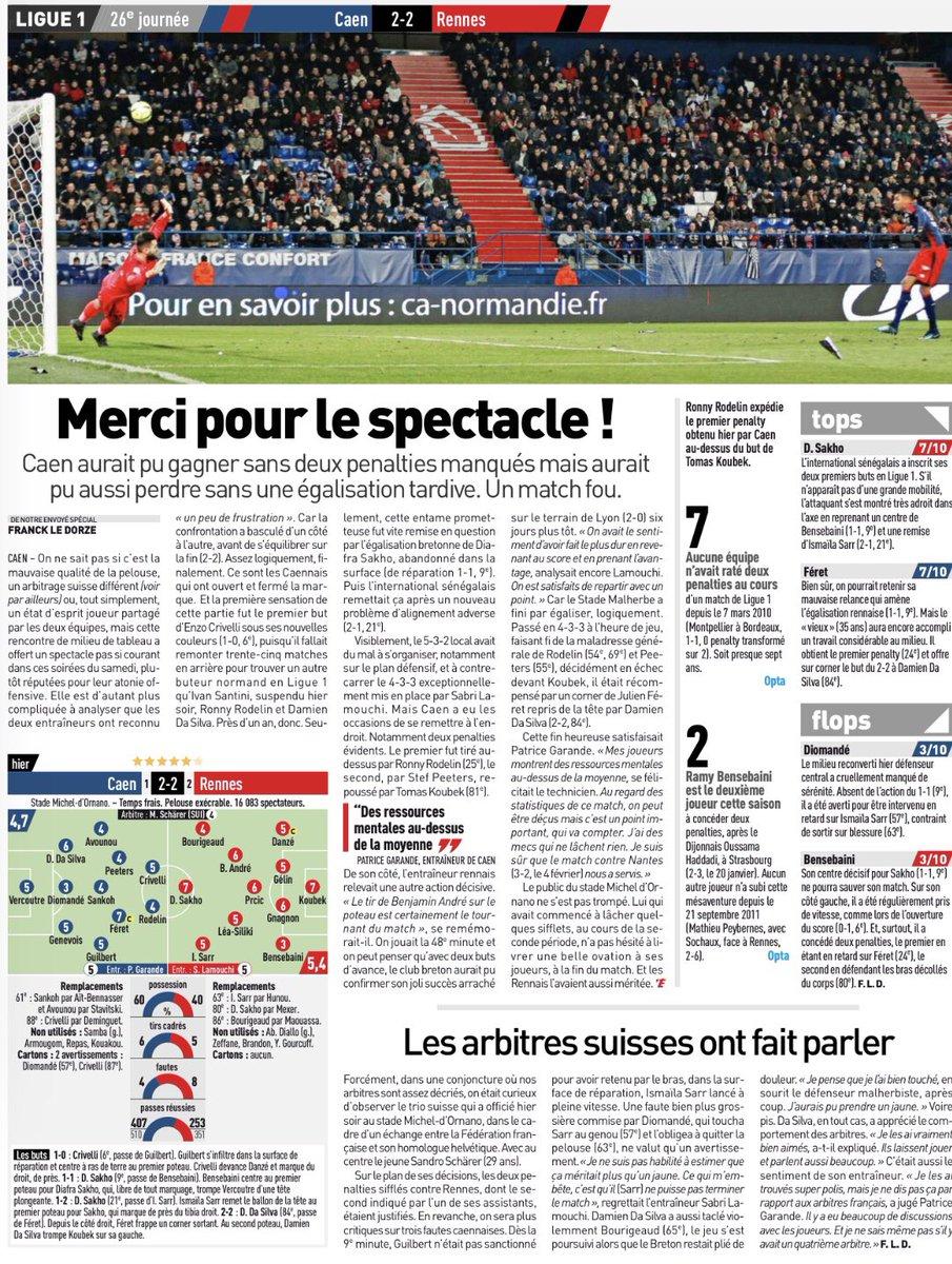 [26e journée de L1] SM Caen 2-2 Stade Rennais DWRmL1zWsAEf78x