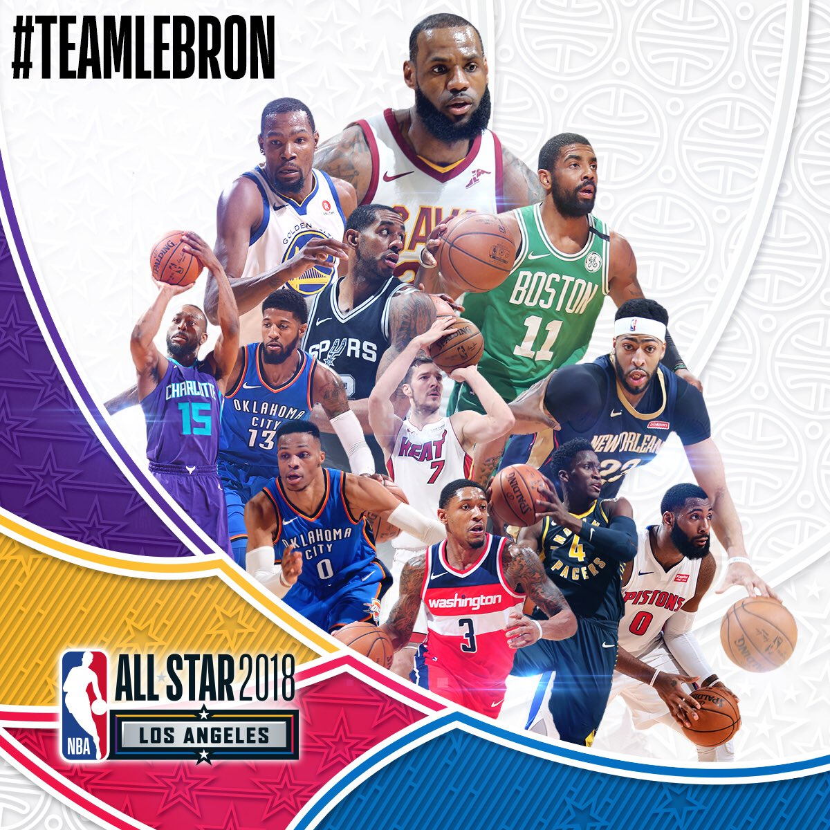 The #NBAAllStar game is my back garden in LA this year ! I'm going for #TeamLeBron.....who do you have ? @NBAUK https://t.co/yWU4u0MQYw