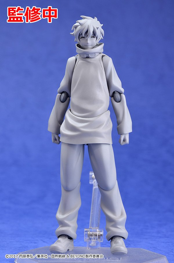 【原型初公開】 [figma レオナルド・ウォッチ」 #kekkai_anime...