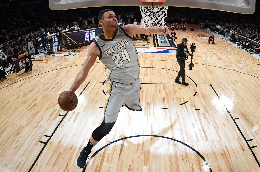 Former Laker Larry Nance Jr. finishes second in NBA All-Star Slam Dunk Contest https://t.co/JWtHbVqze9