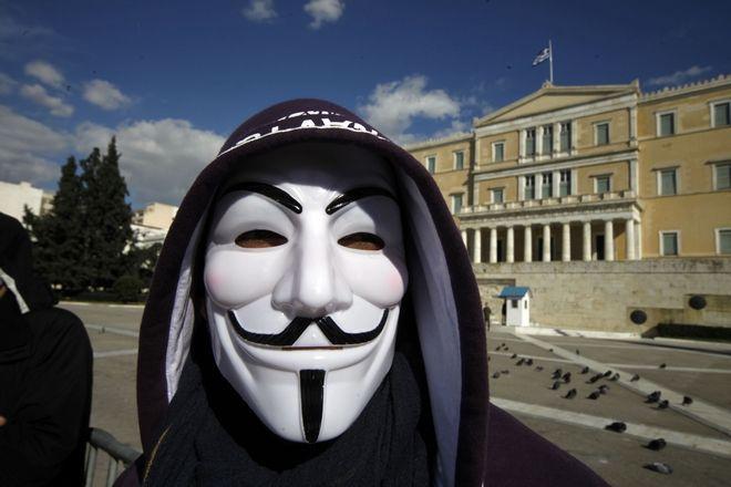 Οι Anonymous Ελλάδας και Κουρδιστάν χτύπ...
