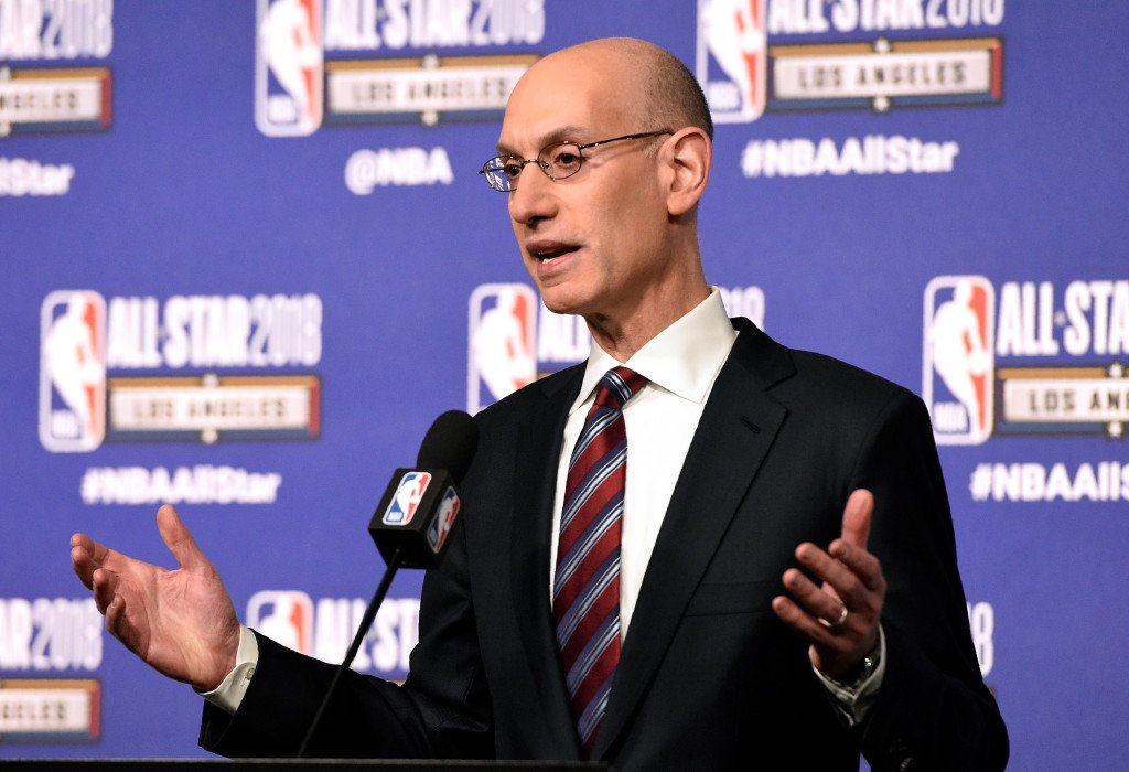 Adam Silver encouraged by NBA players meeting with referees in effort to ease tension https://t.co/4pL0cIuSNa