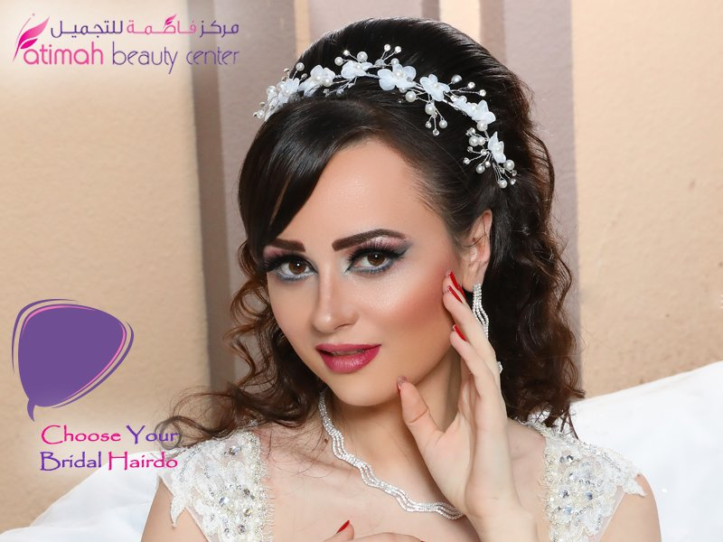 Fatimah Beauty On Twitter Choose Your Bridal Hairdo Collaborate