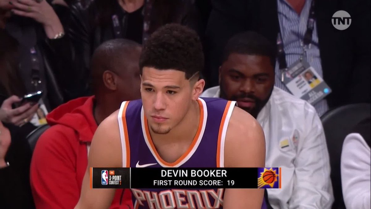 Here was Devin Booker's amazing run maki...